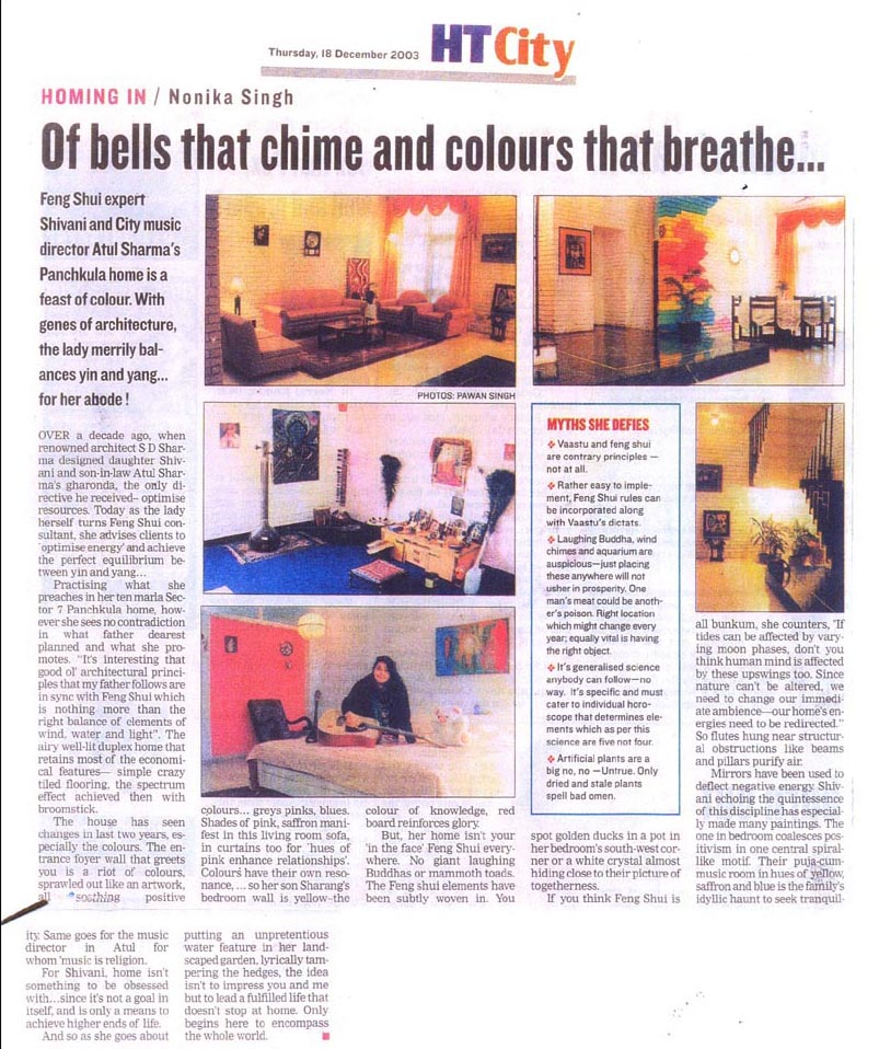 Publication - chime and colours that breathe